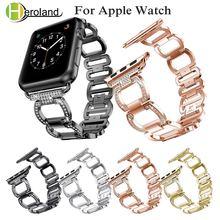 Ремешок из нержавеющей стали для apple watch 1/2018/4 42/38/40/44