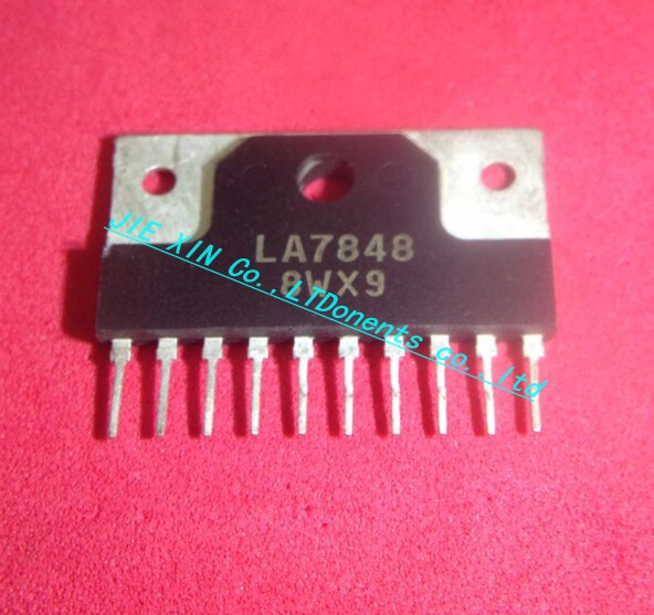 Free Shipping 50pcs lot LA7848 7848 ZIP 10 IC best quality