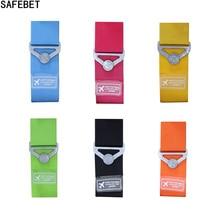 SAFEBET Candy Color Classic Practical Travel Elastic Luggage Straps Adjustable - Luggage Belt - Baggage Suitcase Travel 90cm