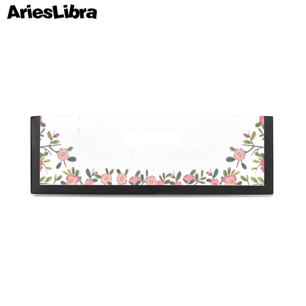 Arieslibra 600 Pcs/box Kuku Tisu untuk Kuku Gel Polish Remover Serat Tisu Bebas Kapas Serbet untuk Paku Seni alat Manicure