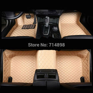 Image 2 - Carnong car mat floor Leather for AUDI TT 4 seat from 2008 2016 full set  pls remark the year of your car for our confirm
