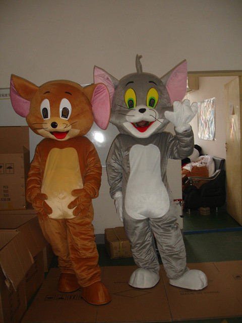 jerry and tom Mascot Costumes Halloween costumes Free shipping & jerry and tom Mascot Costumes Halloween costumes Free shipping-in ...