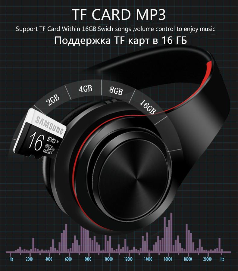 Casque sans fil Bluetooth B7 casque pliable 5