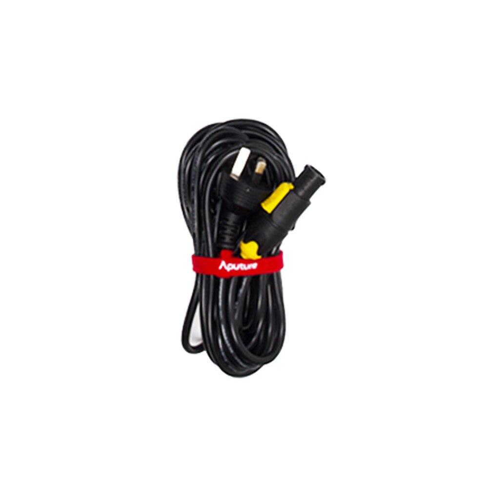 Aputure kabel zasilający do LS C120d II w usa, ue, wielkiej brytanii, AU wtyczka specyfikacja w Akcesoria do studia fotograficznego od Elektronika użytkowa na  Grupa 1