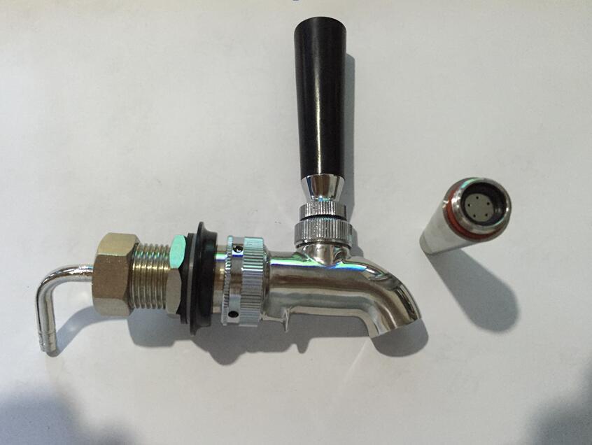 American style stainless steel slow pressure beer column tap ...