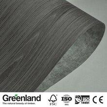 Black OAK Reconstituted Wood Veneer for Furniture
