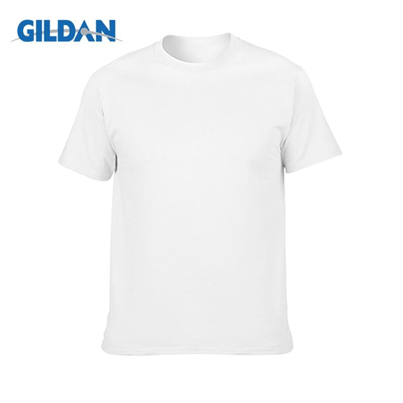 Plain Gildan Cotton Blank Oversized Tshirt T-Shirt White Men Women Unisex Hooded Sweatshirt Hoodie