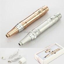 1 Набор, электрическая машина для перманентного макияжа, тату-пистолет, ручка для бровей/МТС, тату-машина, набор устройств с 10 микроиглами