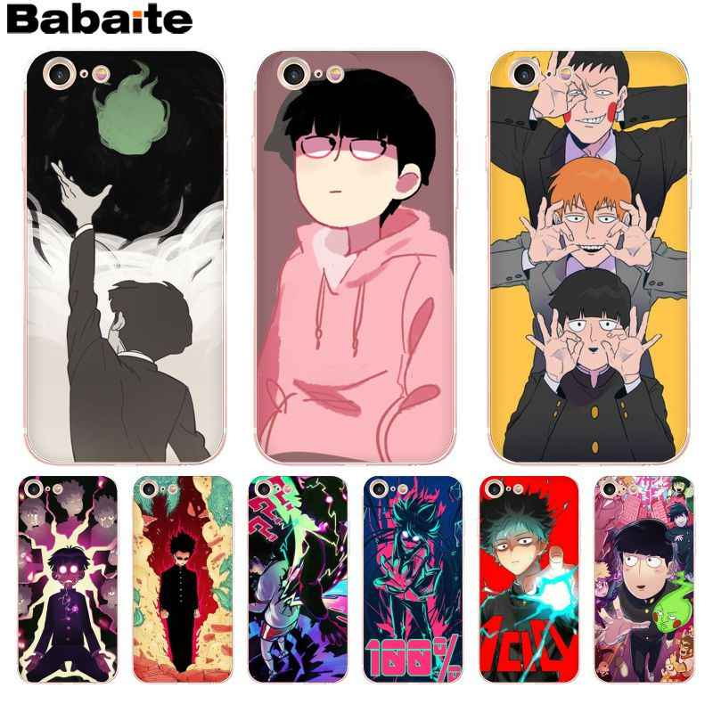 Babaite Mob Psycho 100 Colorful Cute Phone Accessories Case