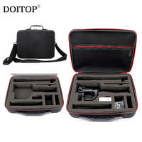 DOITOP Hard Storage Box Shoulder Bag Waterproof Case For Zhiyun Smooth Q Handheld 3 Axis Gimbal