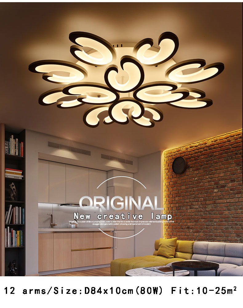 Ceiling Lights & Fans Ceiling Lights Have An Inquiring Mind Led Ceiling Light Modern Lamp Panel Living Room Round Lighting Fixture Bedroom Kitchen Hall Surface Mount Flush Remote Control