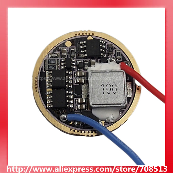 CF FX-30 30mm 6V - 13V 5-Mode Driver Circuit Board For Cree XM-L / XHP50 / XHP70 / MTG2