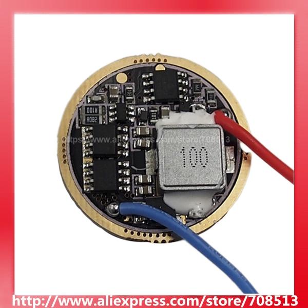 CF FX-30 30mm 6V - 13V 5-Mode Driver Circuit Board For Cree XM-L / XHP50 / XHP70 / MTG2