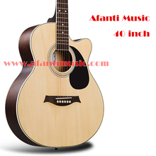40 inch Spruce top Sapele Back & Sides Afanti Acoustic guitar (ADR-228)