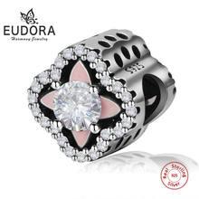 Eudora новинка Стерлинговое Серебро 925 пробы кубический цирконий