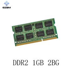 GZSM Laptop Memory DDR2 1GB 2GB Cards 667MHZ 800MHZ RAM 200PIN