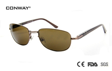 CONWAY2017 new summer style reflective metal frame brand sunglasses women and men fashion design retro vintage sun glases 2386-S