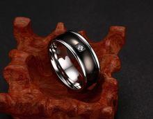 2020 модное черное кольцо с фианитом aaa мужские обручальные