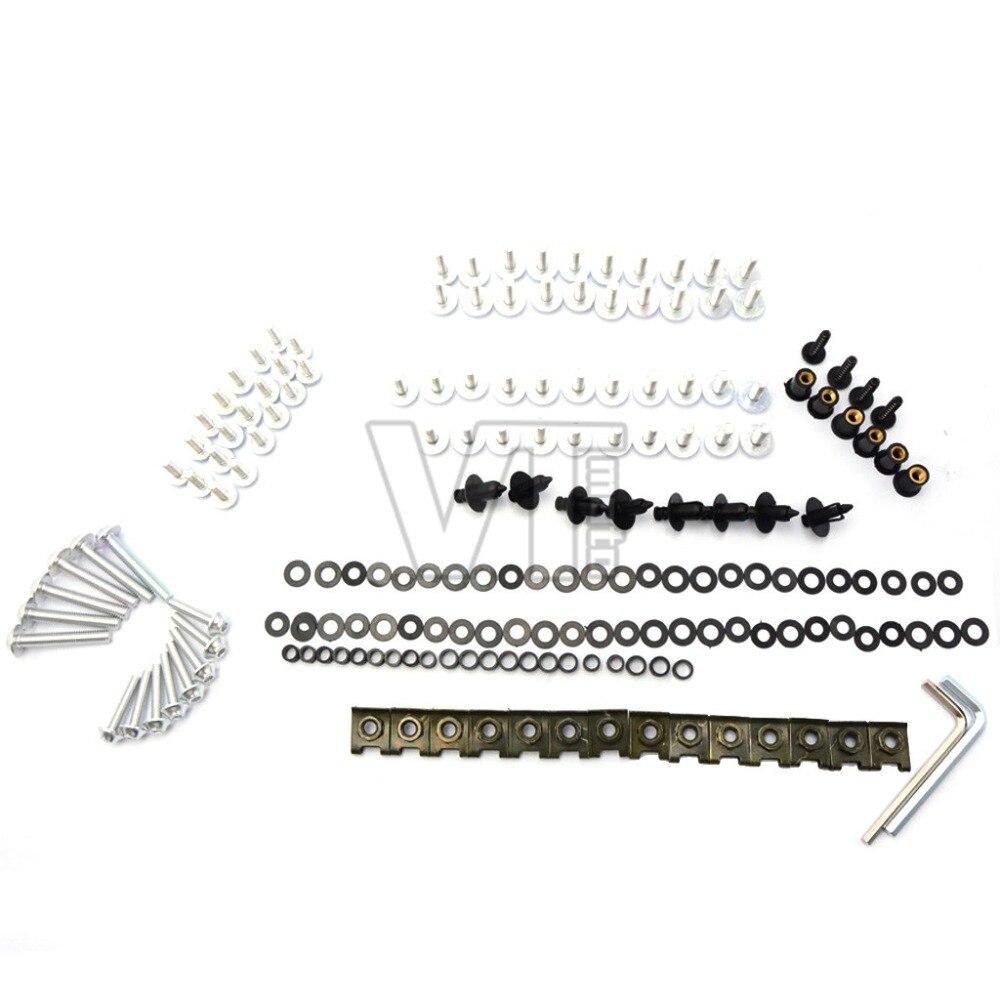 Complete Fairing Bolt nut screw Kit For HONDA CBR600RR CBR