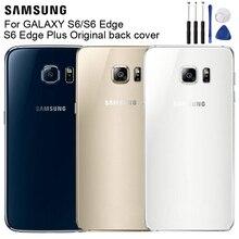 Samsung Original Housing Back Cover Cases For Galaxy S6 G9200 G920f G920 G920A S6 Edge G9250 G925F G925FQ S6 Edge Plus Edge+ чехол для для мобильных телефонов oem bling samsung s6 g9200 s6 case for samsung galaxy s6 g9200