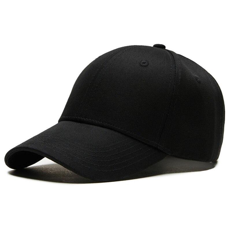 8ff28b43c9d snapback baseball caps Solid men cap women s bones dad hats black Casual  male baseball cap for