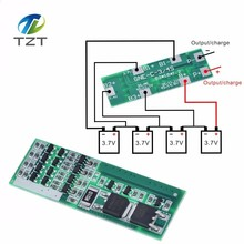 4S 8A Polymer Li ion Lithium Battery Charger Protection Board For 4 Serial 4pcs 3.7 Li ion Charging Protect Module BMS