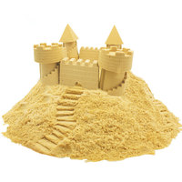 New Pattern 250g Box 7 Color Clay Sand Model Non Stick Hand Power Color Sand Indoor
