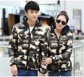 2016 New Arrival Women Camouflage winter Hooded Coat Women Brand Down Jackets Plus size chaquetas mujer