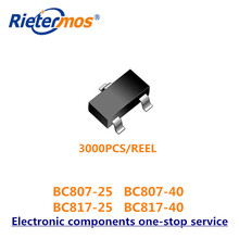 Smd 3000 pces sot23 BC807 25 BC807 40 BC817 25 BC817 40 BC817 16LT1G bc807 bc817 alta qualidade