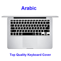 For Macbook Pro Keyboard Cover Arabic Language Silicone Keyboard Skin Cover US UK Common Used USA