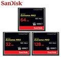 SanDisk Extreme Pro карта памяти 32 Гб 64 Гб максимальная скорость чтения 160 м/с карта памяти CF карта памяти 128 ГБ для камеры