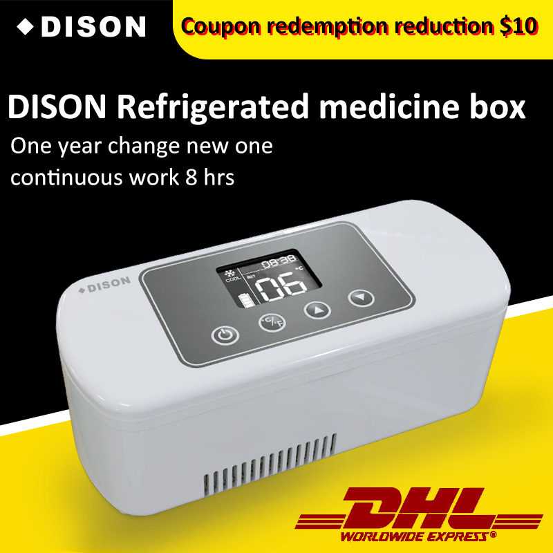 Car Travel Portable Medicine Freezer Diabetic Insulin Cooler Mini Fridge Case diabetic 10