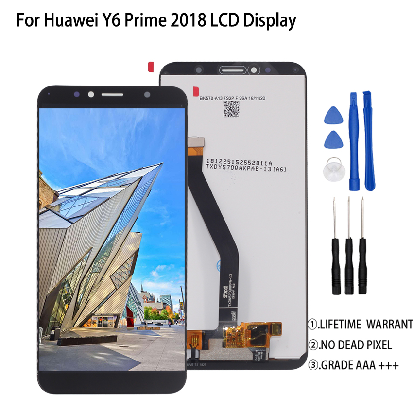 Original For Huawei Y6 Prime 2019 LCD Display Touch Screen Assembly For Huawei Y6 Prime 2019 ATU L11 L21 L22 LX3 Screen LCD