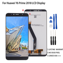 Original For Huawei Y6 Prime 2018 LCD Display Touch Screen Assembly For Huawei Y6 Prime 2018 ATU-L11 L21 L22 LX3 Screen LCD 100% original new ltm170e8 l31 original new full view screen ltm170eu l21 l11