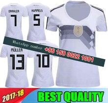 f0351de20a6 2018 World Cup Germany women soccer jersey 2018 woman MULLER OZIL GOTZE  REUS HUMMELS SCHWEINSTEIGER girl Football Shirts