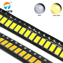 100PCS/200pcs 5630/5730 0.5W 50-55lm White/warm white/red/green/blue/yellow Light SMD 5730 5630 LED chip lamps 3.2~3.4V