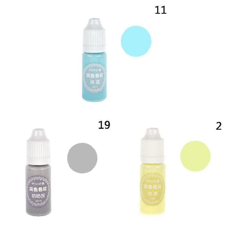 Hot UV Resin Glue Pigment Color Liquid Dye Quick Drying For DIY Jewelry Making Crafts MSK66 in Jewelry Tools Equipments from Jewelry Accessories