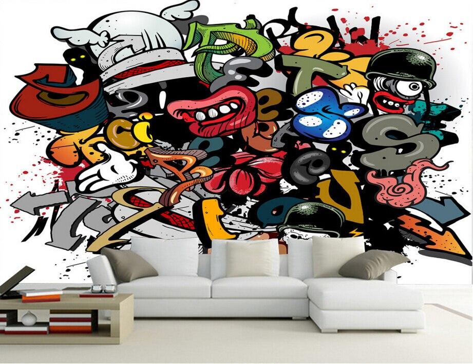 Compra graffiti de cama online al por mayor de china for Graffitis para ninos
