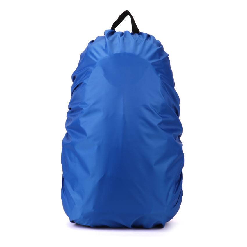 1pc 60L Waterproof Nylon Rain Bag Portable Waterproof Backpack Bag Dust Rain Cover