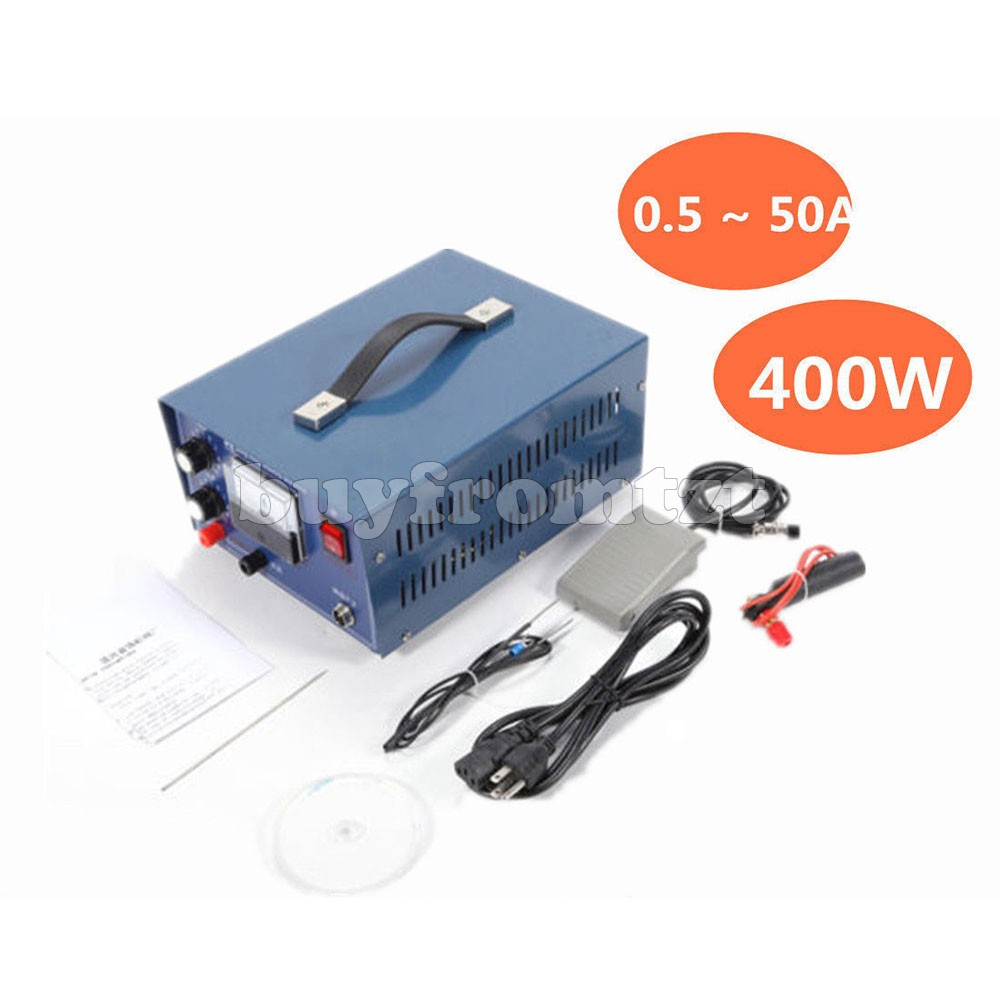 Machine de soudure de Laser de bijoux de 400 W 50A 110 V/220 V Mini Machine facultative de soudeuse de tache