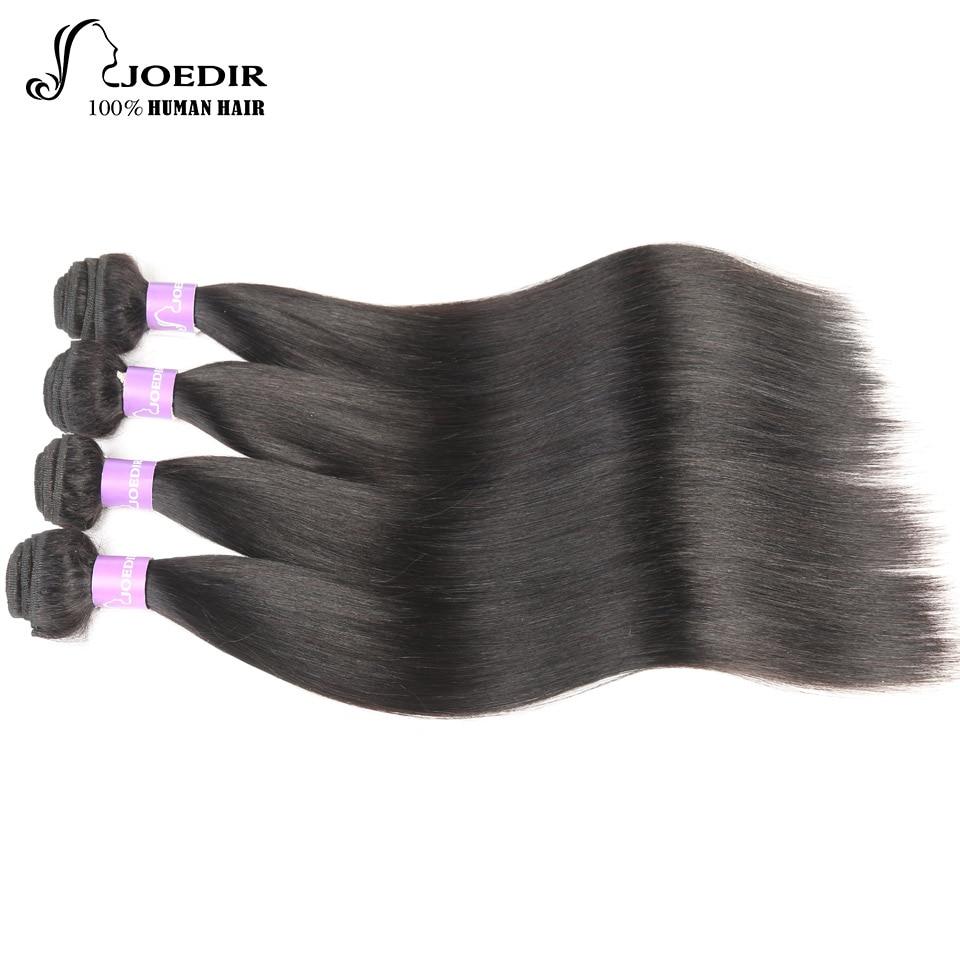Peruvian Straight Hair 4 Bundle Deals Joedir Hair Extension Non Remy Cheap Human Hair Weave Bundles Free Shipping