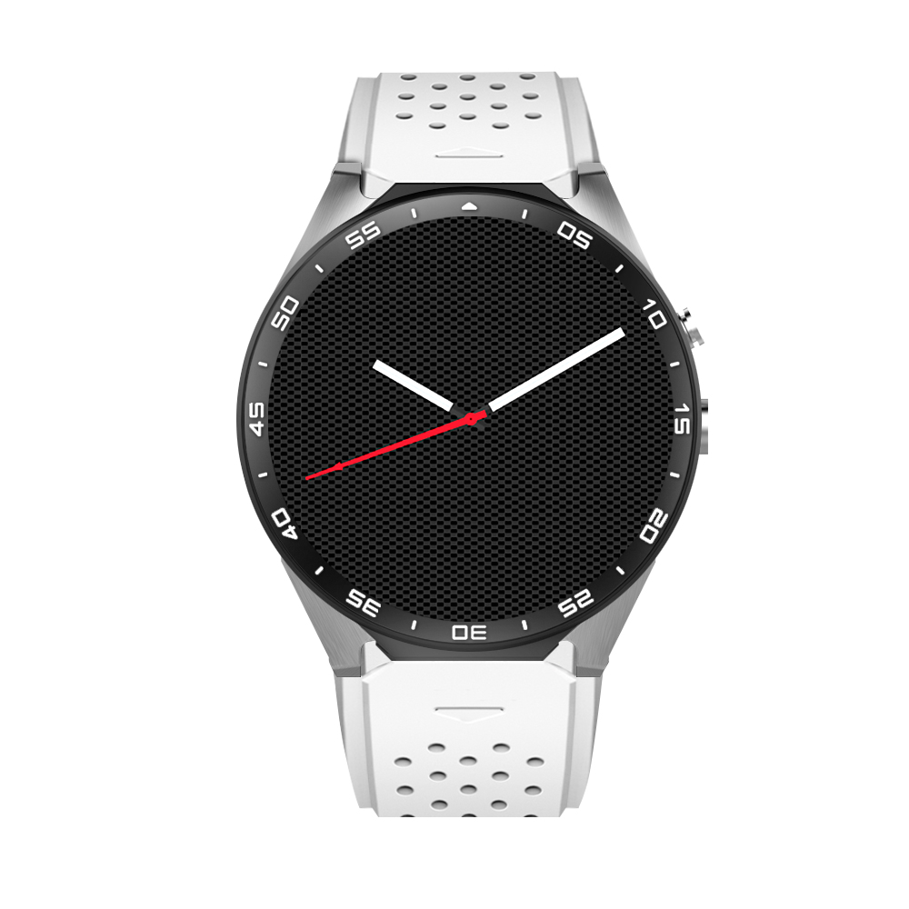 Newest! KW88 smart watch Android 5.1 OS 1.39 inch <font><b>Amoled</b></font> Screen 3G wifi Smartwatch <font><b>Phone</b></font> MTK6580 GPS Gravity Sensor Pedometer