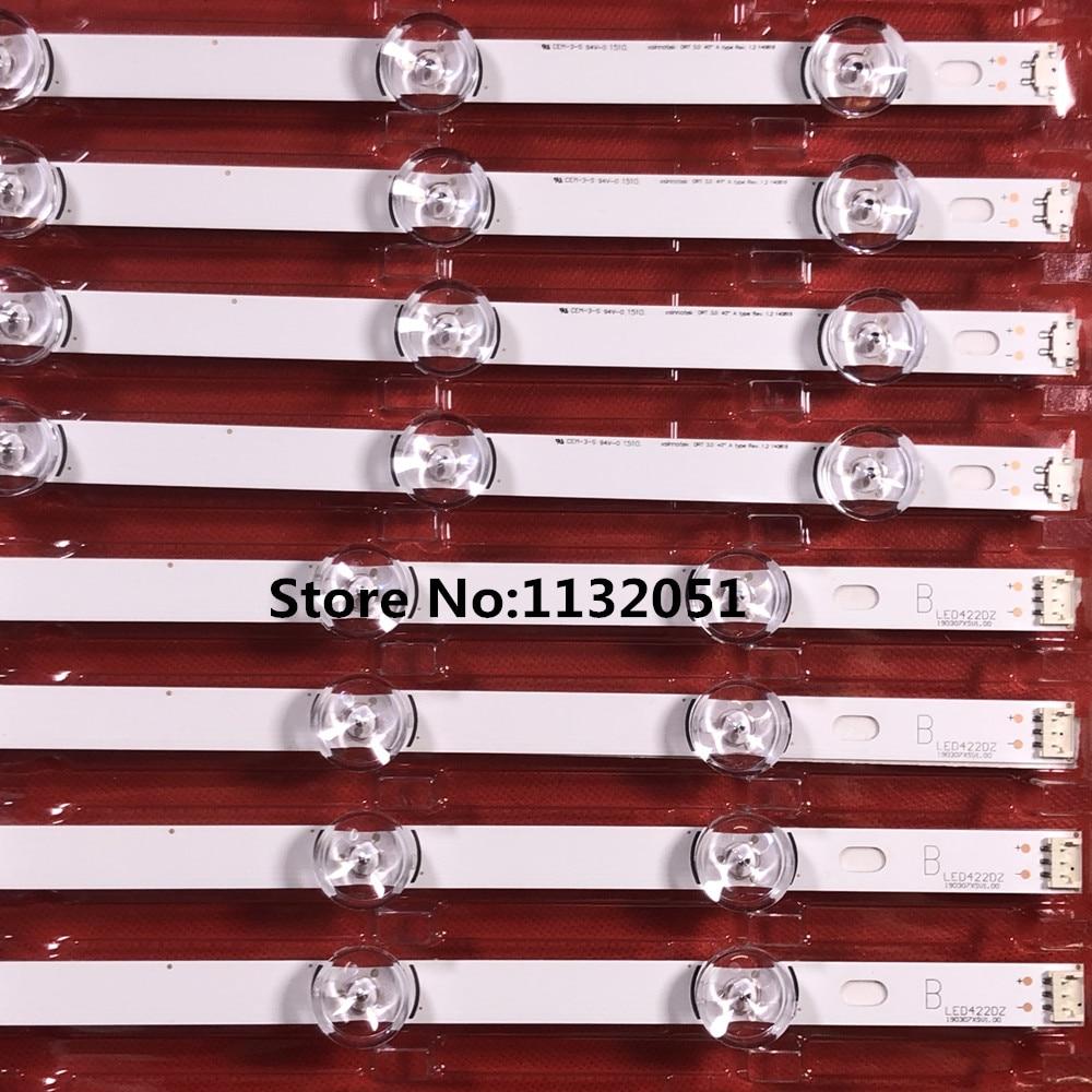 1set=4 Pieces 1pcs=4led LED  LG INNOTEK DRT 3.0 40