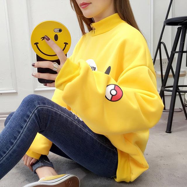 Pokemon Pikachu Sudadera Temática Linda (2 Colores)