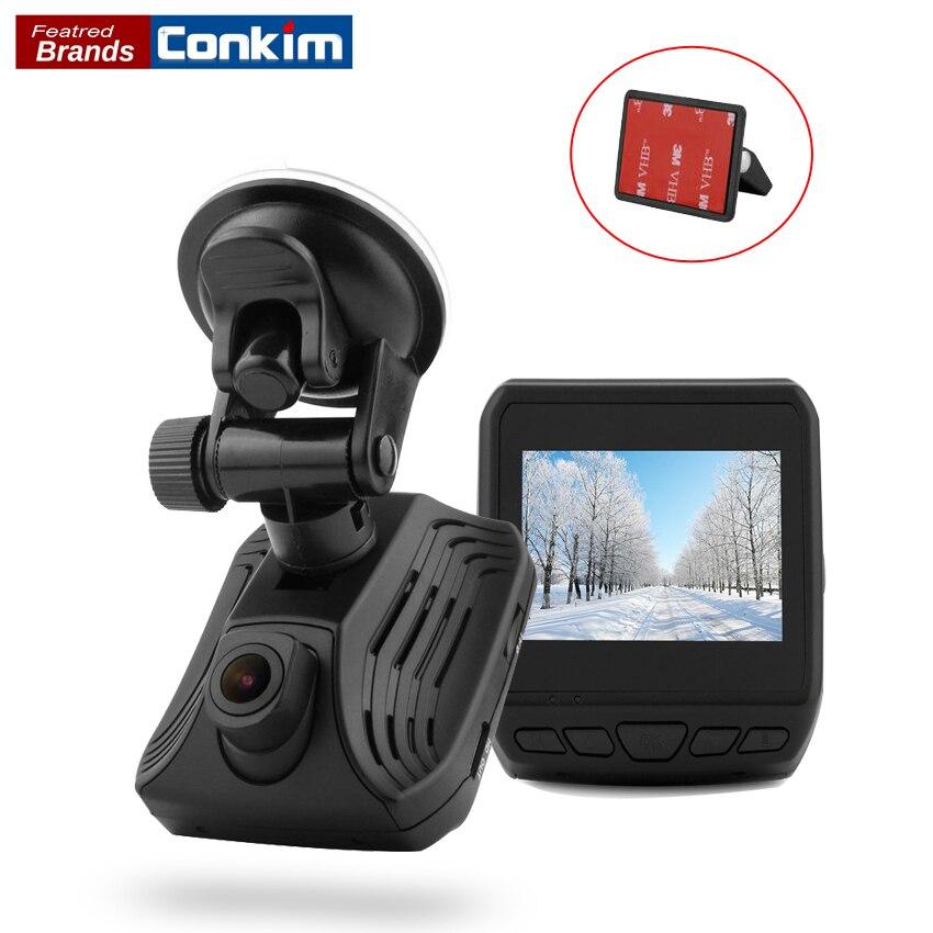 Conkim Dash Caméra Ambarella A12 1440 p Super HD Voiture Vidéo Recoder 2.3 LCD Voiture DVR Avec GPS ADAS LDWS Auto Voiture Registraire DAB211