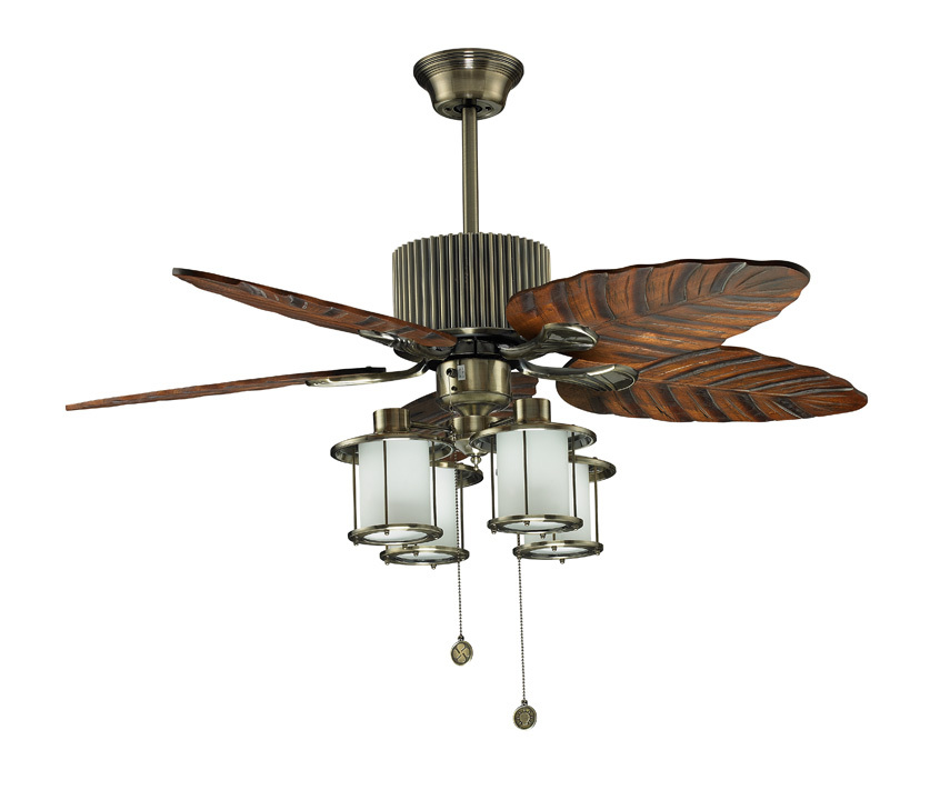 free shipping ceiling fan with light as appliance lighting for home show room cafe restaurant