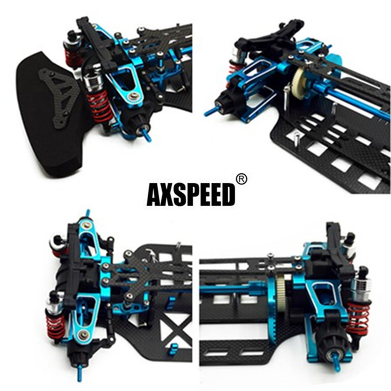 Newest Alloy Carbon Shaft Drive 1/10 RC Touring Car Frame Kit for TT01 TT01ENewest Alloy Carbon Shaft Drive 1/10 RC Touring Car Frame Kit for TT01 TT01E