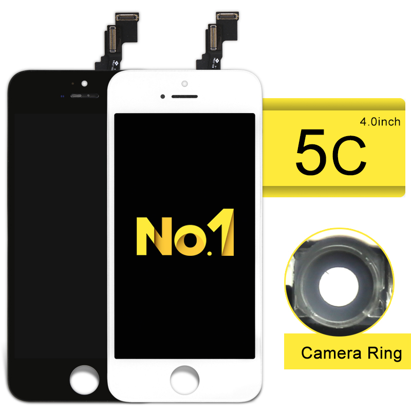 Grade AAA++ For iPhone 5C 5S 5G LCD Dispaly  Assembly Screen Replacement with camera holder Alibaba china highscreen 10pcs highscreen brand new aaa quality lcd for iphone 5 screen with digitizer assembly camera holder