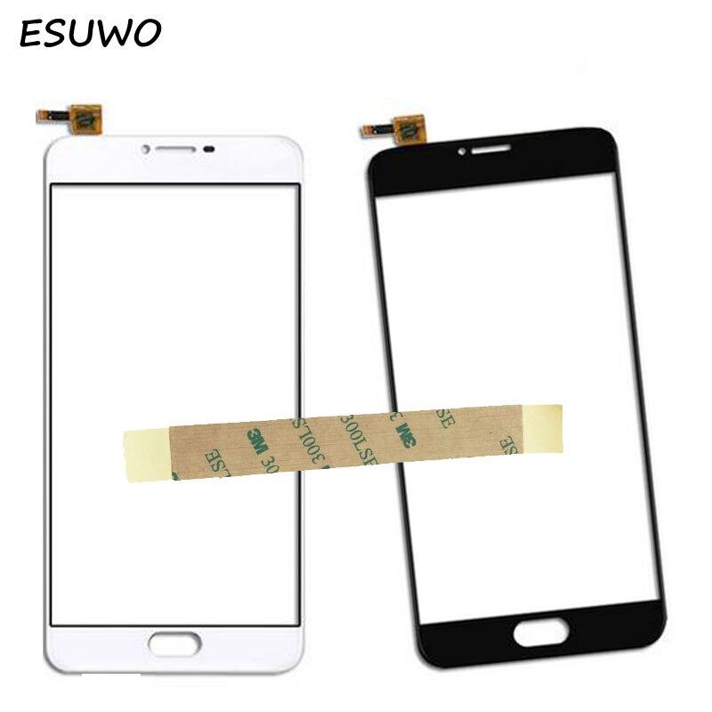 ESUWO 5.0 Touch Screen For MEIZU U10 Digitizer Touchscreen Glass Panel For Meilan U 10 Touch Screen Front Lens