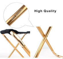 Outdoor Foldable Fishing Chair Ultra Light Weight Portable Folding Aluminum Alloy